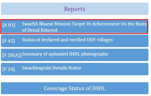 Swachh Bharat Mission के तहत Sauchalay Yojana List 2019 ऑनलाइन कैसे चेक करे ?