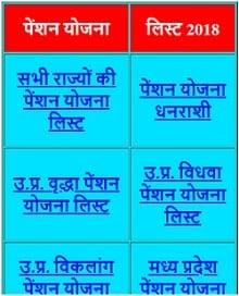 सभी राज्यों की सभी Pension Yojana List 2018 में आपना नाम कैसे देखें ?
