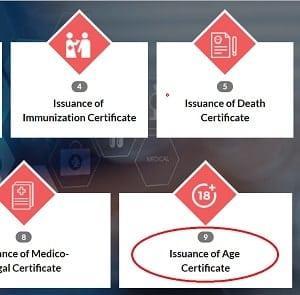 मोबाइल से Uttar Pradesh Age Certificate ( उत्तर प्रदेश आयु प्रमाण पत्र ) ऑनलाइन आवेदन कैसे करें ?