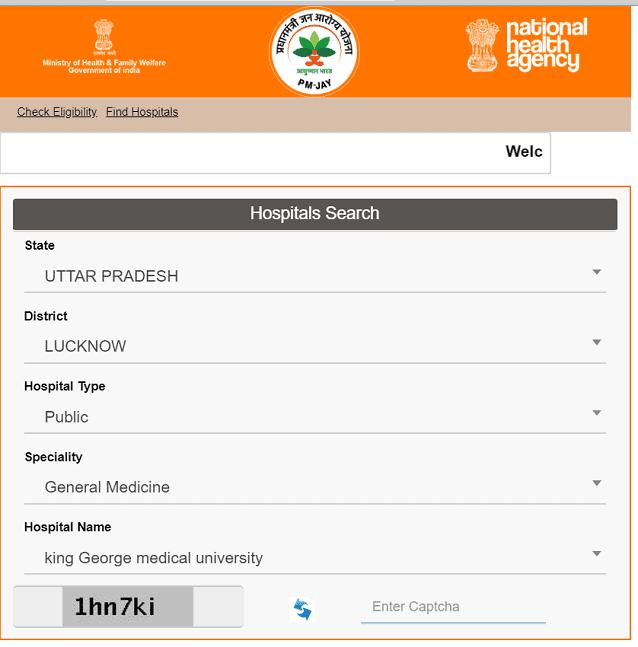 Ayushman Bharat Yojana Free Hospital List कैसे देखें ? Jan Arogya Yojana Free Hospital List