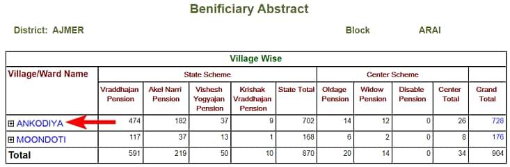 [लिस्ट] राजस्थान वृद्धावस्था पेंशन योजना लिस्ट 2020 ऑनलाइन कैसे देखें? Rajasthan Old Age Pension List