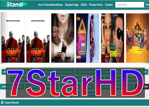 7StarHD South Movies, Hollywood, Bollywood, 300MB Movies Download In Hindi