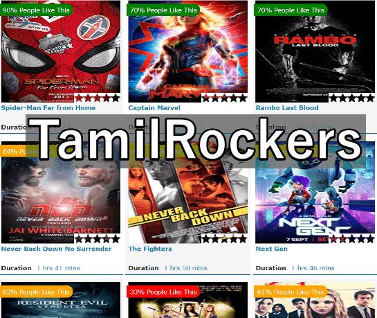 TamilRockers 2019 - Latest Tamil, Telugu Hindi Dubbed Movie Download