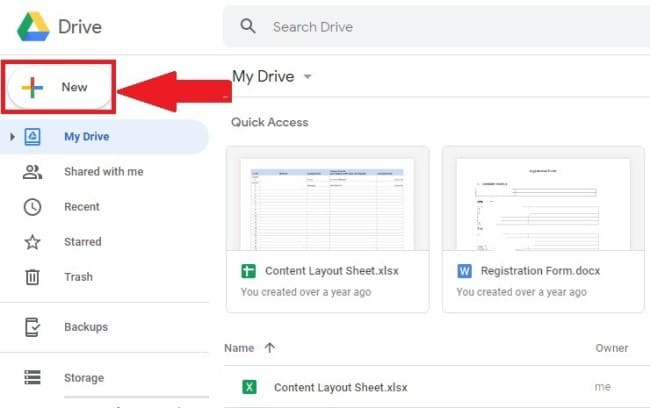 How to Save Data in Google Drive
