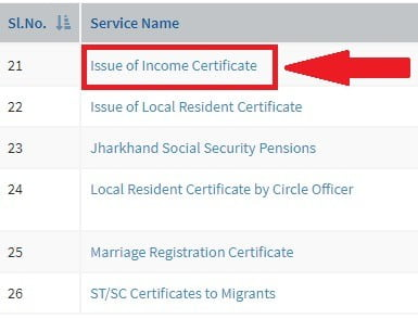 Choose Your Jharkhand Income Certificate Form