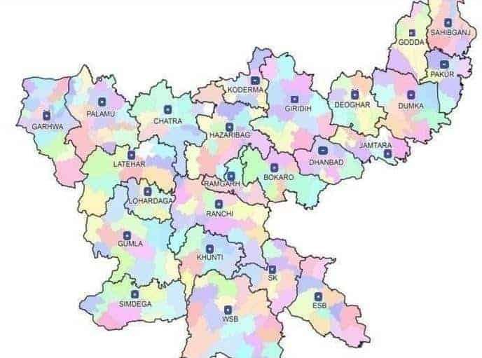 Jharkhand Bhulekh Map