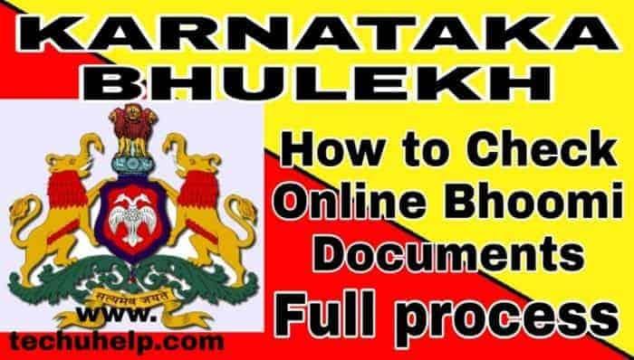 Check Online Karnataka Bhulekh Khasra Khatauni in Hindi