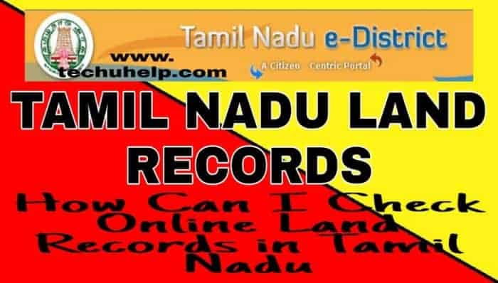 How Can I Check My Land Record in Tamilnadu in Hindi - Tamil Nadu Bhulekh Khasra Khatauni Online full Details in Hindi