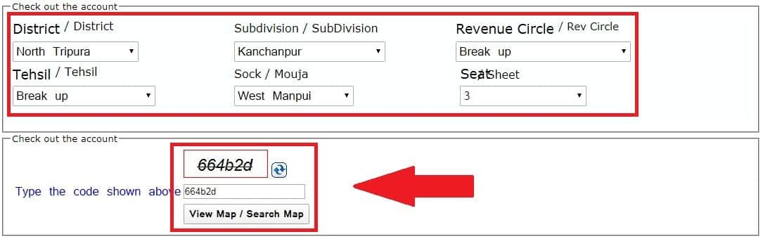 Fill Your Map Form