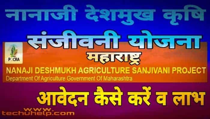 नानाजी देशमुख कृषि संजीवनी योजना के तहत महाराष्ट्र सरकार राज्य के छोटे तथा मध्यम वर्ग के किसानों को लाभ पहुंचायेगी