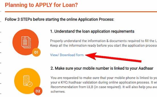 पीएम स्वनिधि योजना आवेदन प्रक्रिया -PM Swanidhi scheme application process