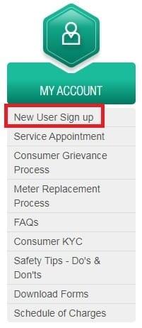 Bses New User Registration