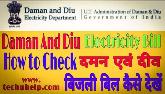 Daman Diu Bijli Bill Online Check Kaise Kare in Hindi