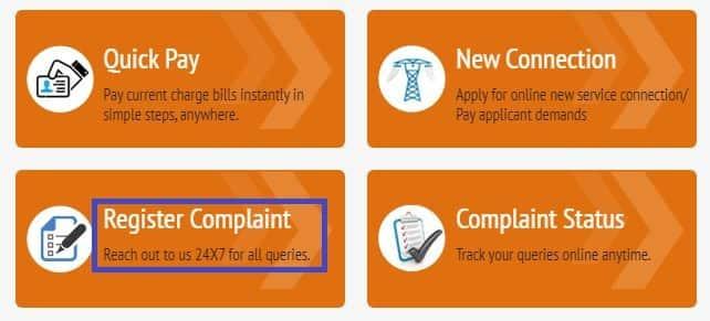 KSEB Complaint Registration Process