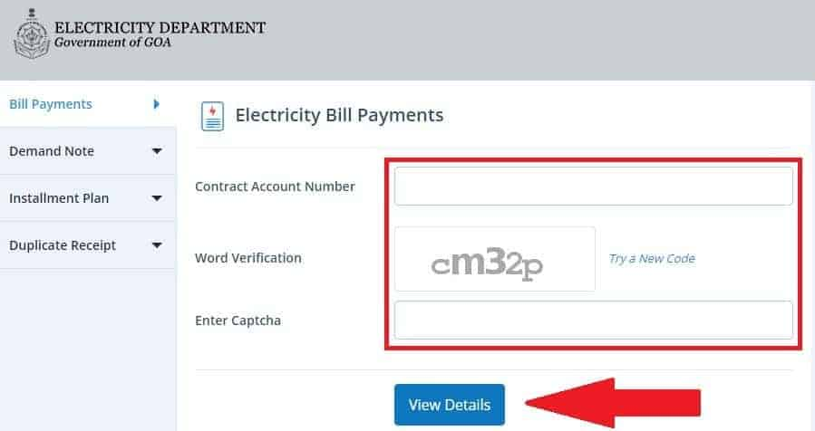 Find Your Goa Electricity Bill Here