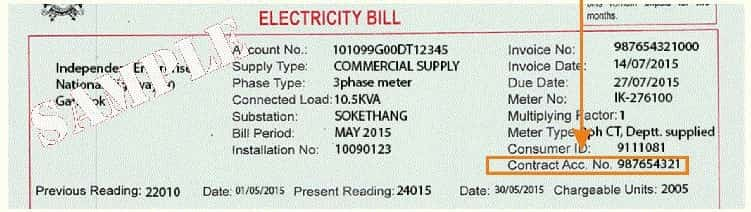 Sikkim Electricity Bill Payment