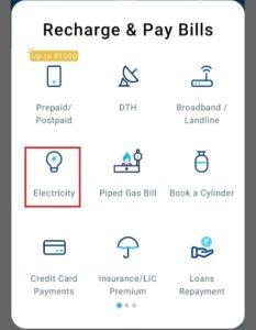Meghalaya Electricity Section Paytm
