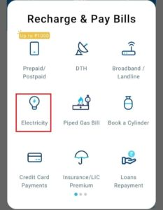 Paytm Tripura Electricity Bill