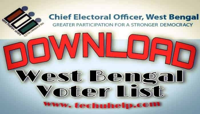 West Bengal Voter List Download & How to check WB Voter List in Hindi