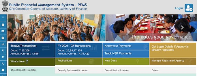 PFMS Scholarship 2021: pfms.nic.in List, Payment Status, Payslip Online