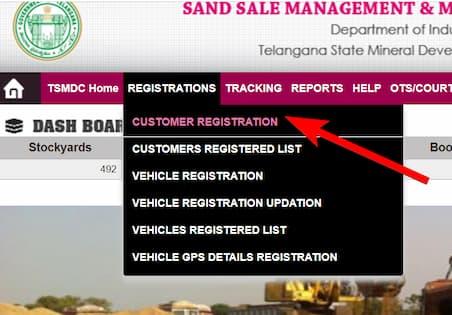 TS Sand Booking (SSMMS) के तहत कैसे रजिस्ट्रेशन कराएं?